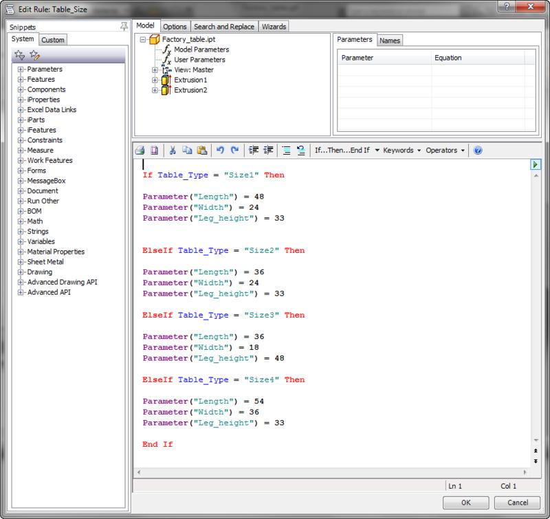 ILogic code