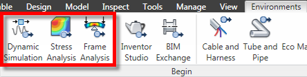 Look at the simulation beauty in Inventor