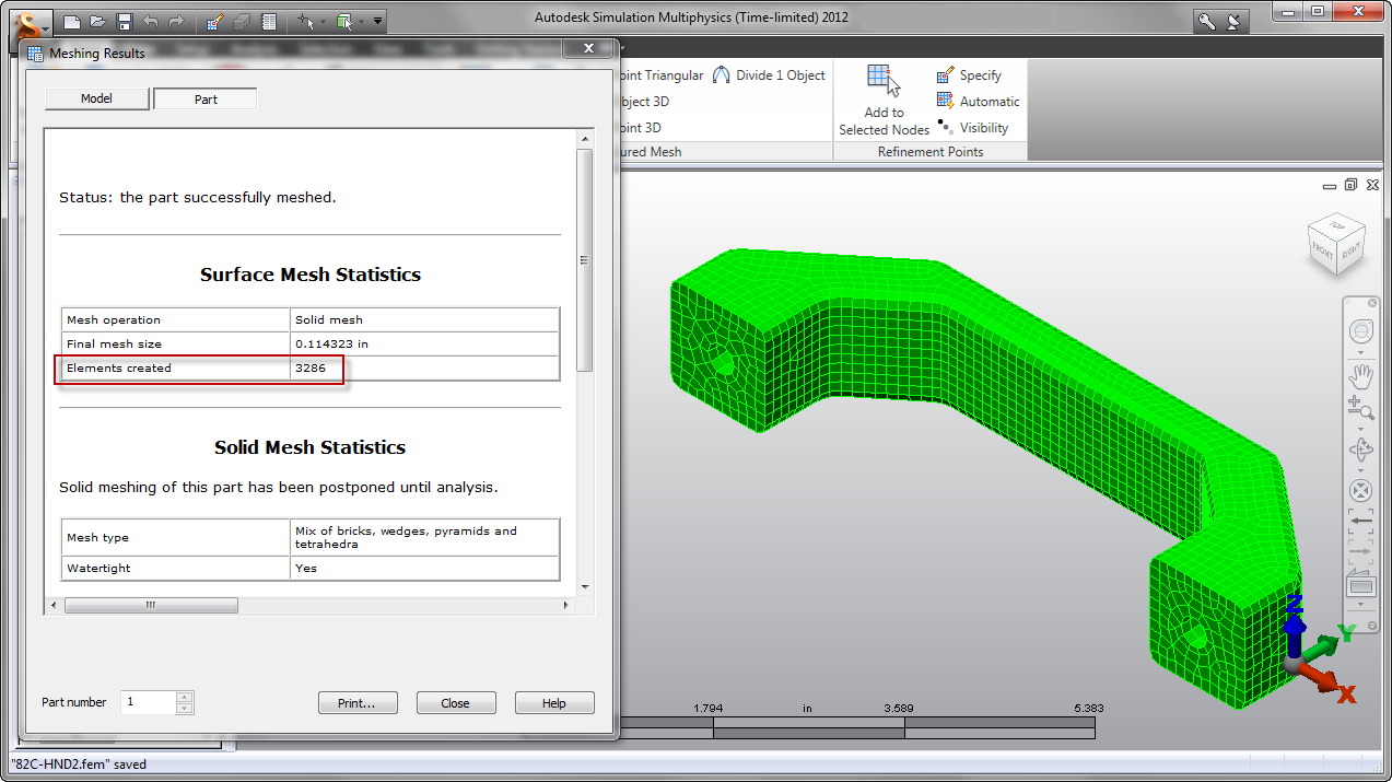 Autodesk Simulation 2012 and Inventor Fusion - A delicious