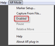 Enable AR Mode
