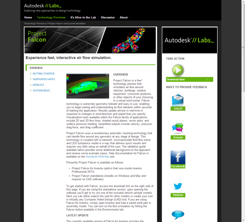 Autodesk Project Falcon - Now available inside of Autodesk Inventor