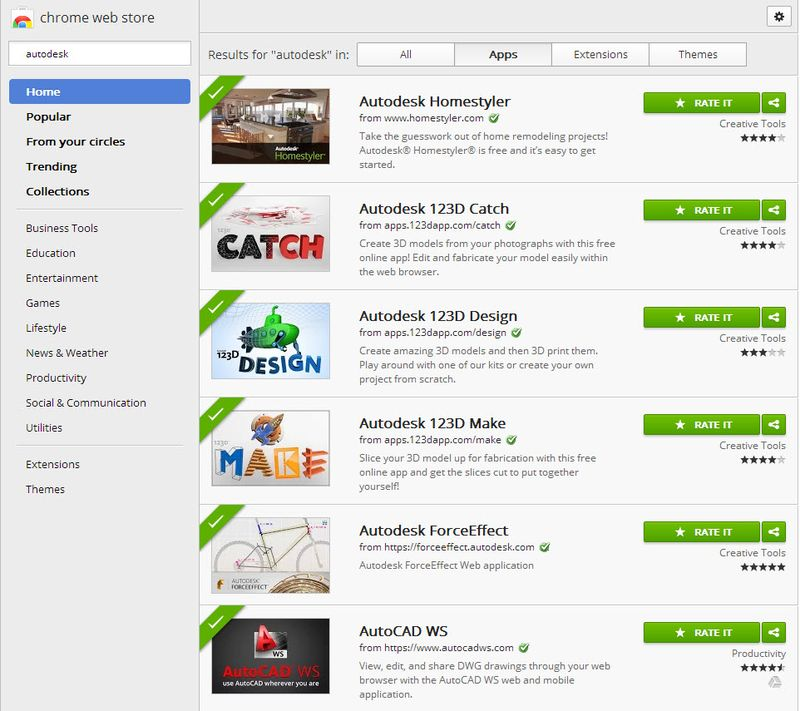 Autodesk Apps on the Chrome Web Store - Manufacturing Toolbox